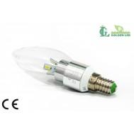 Bec  LED 3W -6000K Lumina Rece
