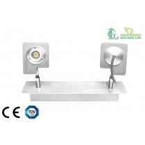 Lampa spot  LED de perete 6W (2*3W) 3000K Lumina Calda
