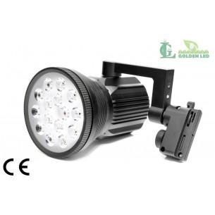Proiector LED  interior 15W 6000-6500K Lumina Rece