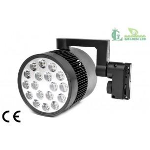 Proiector LED  interior 18W 3000-3500K Lumina Calda