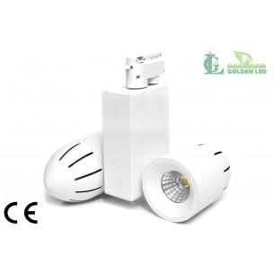 Proiector LED  interior COB  2*15W 6000-6500K Lumina Rece