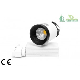 Proiector LED  interior COB  10W 3000-3500K Lumina Calda