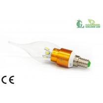 Bec LED lumanare 3W -6000K Lumina Rece