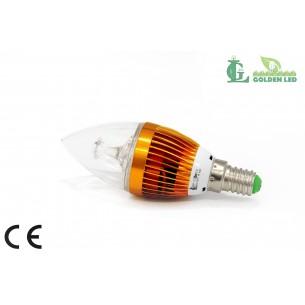 Bec LED 3W-6000K Lumina Rece