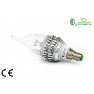 Bec LED  lumanare  3W-6000K Lumina Rece