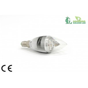 Bec  LED 4W-6000K Lumina Rece