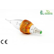 Bec LED  lumanare  3W-3000K Lumina Calda