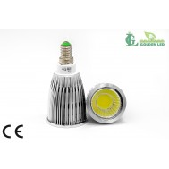 Bec LED 7W 5500K-6000K Lumina Rece