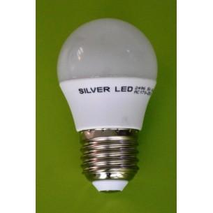 BEC LED G45 7W - 2700K LUMINA CALDA