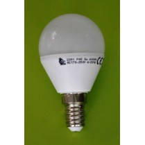 BEC LED G45 5W - 4100K LUMINA NATURALA