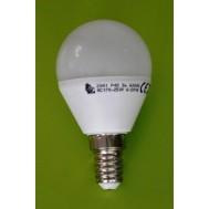 BEC LED G45 5W - 6000K LUMINA RECE