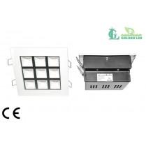 Panou  LED  9W 5500-6500K Lumina Rece
