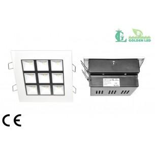 Panou  LED  9W-2700-3200K Lumina Calda