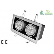 Spot LED 10W 6000K Lumina Rece