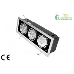 Spot LED 15W 6000K Lumina Rece
