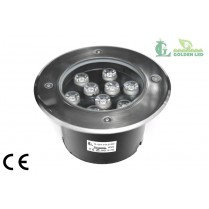 LED pentru pardoseala 9W 3000K Lumina Calda