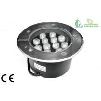 LED pentru pardoseala 12W 3000K Lumina Calda