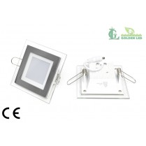 Panou  LED  6W 2700-3200K Lumina Calda