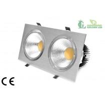 Spot LED  COB  40W 5500K Lumina Rece