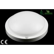 Aplica LED cu senzor de miscare cu microunde 9W-6000K Lumina Rece