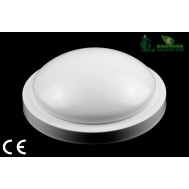 Aplica LED cu senzor de sunet 9W 6000K Lumina Rece
