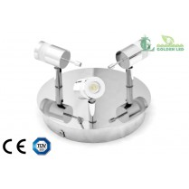 Lampa spot  LED 9W (3*3W) 3000K Lumina Calda