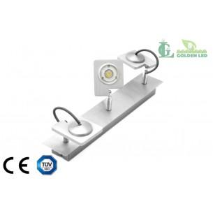 Lampa spot  LED de perete 9W (3*3W) 3000K Lumina Calda