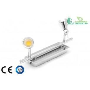 Lampa spot  LED COB 10W 2*5W 3000K Lumina Calda