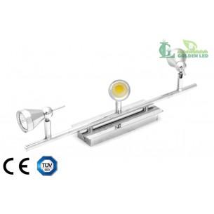 Lampa spot  LED COB  15W (3*5W) 3000K Lumina Calda