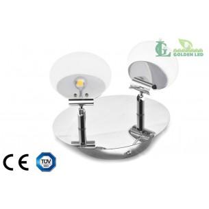 Lampa spot  LED 6W (2*3W) 3000K Lumina Calda