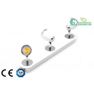 Lampa spot  LED COB 15W 3*5W 3000K Lumina Calda