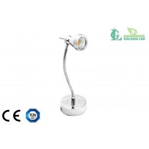 Lampa spot  LED pentru pat  5W 3000K Lumina Calda