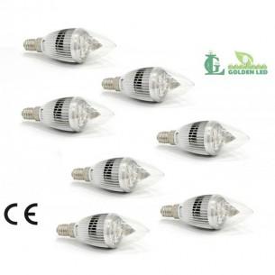 Pachet becuri led Bec LED 4W-6000K Lumina Rece 7 bucati