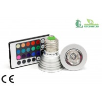 Bec LED RGB 3W