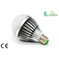 Bec  LED 9W-3000K Lumina Calda - Mat