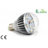 Bec  LED 9W-3000K Lumina Calda - Transparent