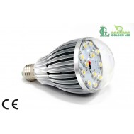 Bec LED 12W-3000K Lumina Calda - Transparent
