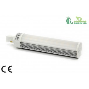 Bec LED G24 8W-5500-6000K Lumina Rece - MAT