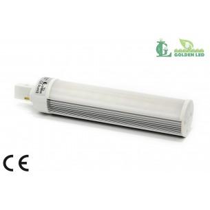 Bec LED G24 8W-2700-3200K Lumina Calda - MAT