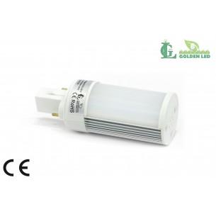 Bec LED PL 3W 5500-6000K Lumina Rece - MAT