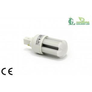 Bec LED G24 3W-5500-6000K Lumina Rece - MAT