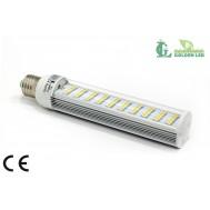 Bec LED PL 8W 5500-6000K Lumina Rece - TRANSPARENT