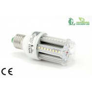 Bec LED E27 3W -2700K-3200K Lumina Calda-TRANSPARENT