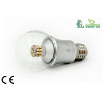 Bec LED 9W  2700K-3200K Lumina Calda - TRANSPARENT