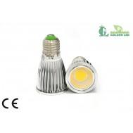Bec LED 5W Dimabil 5500-6000K Lumina Rece