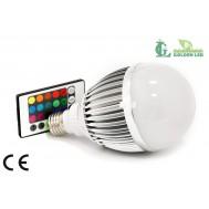 Bec LED 9W RGB MAT